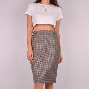 ✨RARE Vintage Escada Houndstooth Skirt ✨